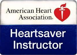 AHA Heartsaver Instructor Lapel Pin